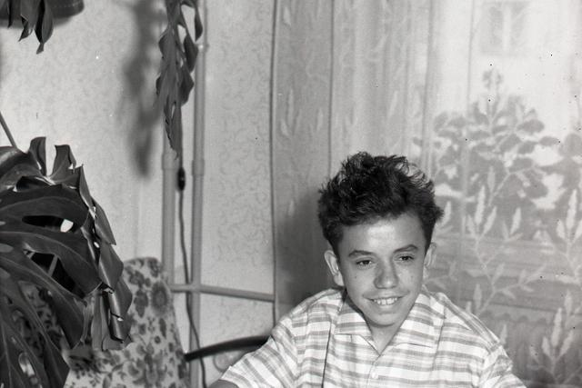 Rok 1965: Bohuš Sivák - matematický talent zo Zvolena - fotografie - Vtedy
