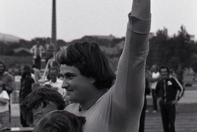 Rok 1977: Svetový rekord Heleny Fibingerovej  - fotografie - Vtedy
