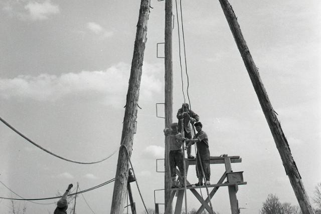 Rok 1977: Začína sa budovať vodné dielo Gabčíkovo-Nagymaros - fotografie - Vtedy