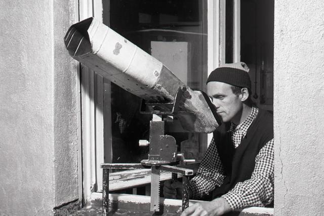 Rok 1957: Z Lomnického štítu bližšie ku kométam - fotografie - Vtedy